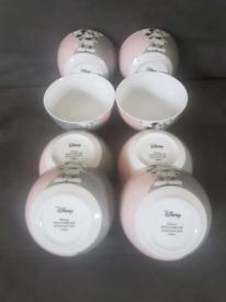 8x Official Disney Ceramic Bowls £20