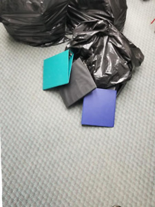 Different Colors and Sizes of 3-Ring Binders