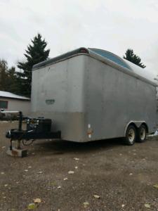 14 ft Tandem Enclosed Cargo Trailer