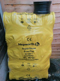 Hepworth supersleve collars / drainage