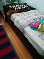 Two single bed frames excellent condition