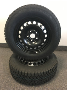 NEW Gislaved Nord-Frost set 195/65R15 on steel direct fit wheels