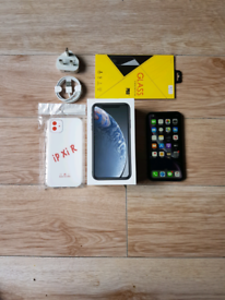 Iphone XR Bundle Unlocked 64GB Black I Phone X R Ten