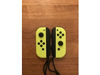 Nintendo Switch Neon Yellow Joy-Cons