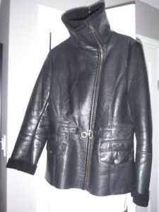 Leather winter jacket - Danier