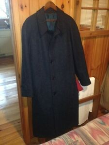 Navy Blue Men's Dress Coat