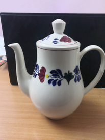 Handcrafted Boch since 1841 Tea pot used