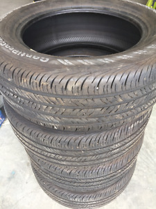 4 P235/55R 17inch Contipro Connect M&S Tires