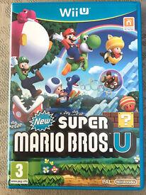 New Super Mario Bros U for Nintendo Wii U