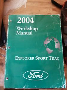Repair Manual 2004 Ford Explorer Sport Trac