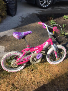 Free Barbie bike 16""