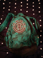 Element Backpack Green