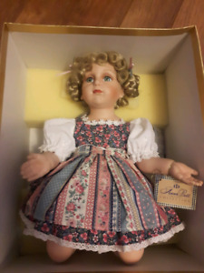 AnnaBell collection exclusive porcelain doll