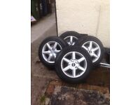 Wolfrace alloys 15inch