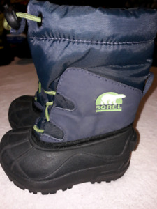 Sorel Boots (Black,blue and green)