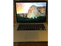 "Apple MacBook Pro 2.8GHz i7, 15.4"" Retina Display ,16GB RAM, 751GB Flash Storage, 2013 Model"