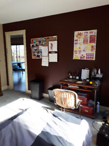Subletting large bedroom, Mackenzie and Quadra, (May1st-Aug31st)