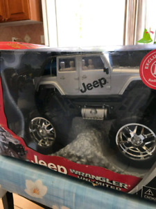 Jeep Wrangler Remote controlled toy