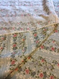 Jessica McClintock Blue Roses Twin Flat And Fitted Sheets Floral London Ontario image 4