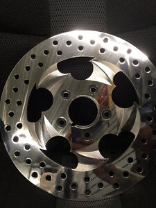 Rev tech doom front brake rotor