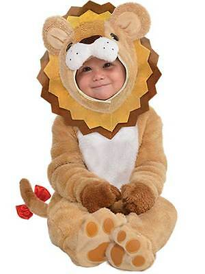 Baby Lion Little Roar Costume Toddler Animal Infant Fancy Dress Age 6-24 Months ()