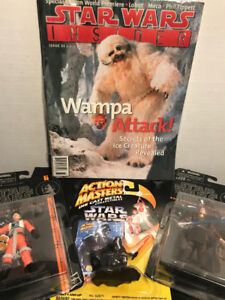 Star Wars Combo Pack . Action Masters, Black Series and Insider