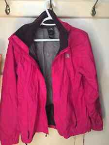 North Face wind breaker size large