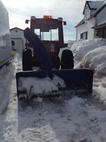 "Lucknow S7 84"" snow blower attachment for tractor"