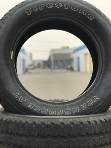 FIRESTONE TRANSFORCE AT TIRES NEW CONDITION