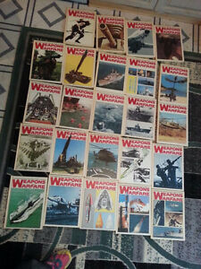 """Hard Cover - """"Weapons of Warfare"""" Illustrated Encyclopedia set"""