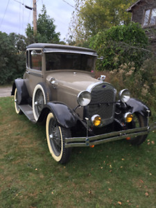 MODEL A  5 WINDOW COUPE 1929