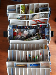 Tackle box mint condition loaded mostly new stuff