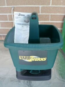 YardWorks seed/fertilizer spreader