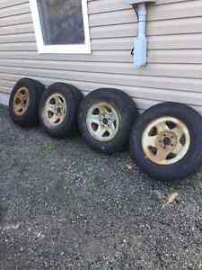 Ford Ranger Snow Tires and Rims