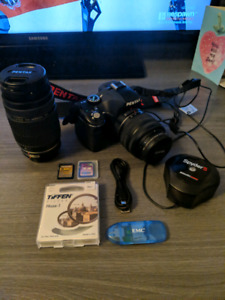 Pentax K-x w/ 2 Lenses & Other Goodies for Sale! GOOD CONDITION