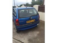 CORSA AUTO, ONLY 70,000 MILES AND BRAND NEW MOT £425.00