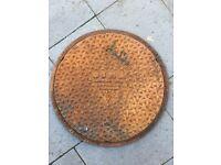 Osma Cast iron manhole.