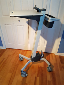 Adjustable Height Mobile Laptop Cart (sit or stand)