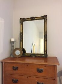 Antique Guilt Style Mirror (repo)