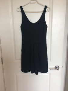 Size 6 black Wilfred Fit and Flare Dress