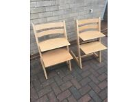 Stokke Tripp Trapp High Chair, latest model, as new, unused.