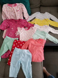 Baby girl clothing lot (9 months)
