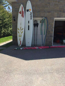 2 PADDLE SURFBOARDS FOR SALE