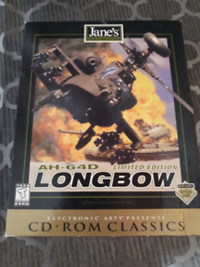 AH-64D Longbow: Limited Edition CD-ROM Classics (PC, 1997) Comp.
