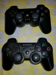 PS3 Dual Shock Wireless Controllers FOR SALE !  $25 each