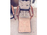 2 x cintique lounge chairs