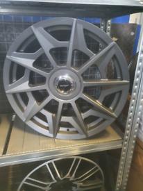 "Alloy wheels 20"" fits bmw audi volkswagon skoda seat 5x112 5x120"