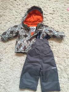 Oshkosh boys snowsuit 18months