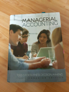 Managerial Accounting Third Canadian Edition