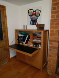 M&S Oak Bureau desk